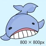 クジライラスト