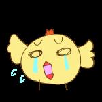 ゲーム用素材_トリ(泣く2)