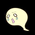 ゲーム用フリー素材_お化け_泣き0