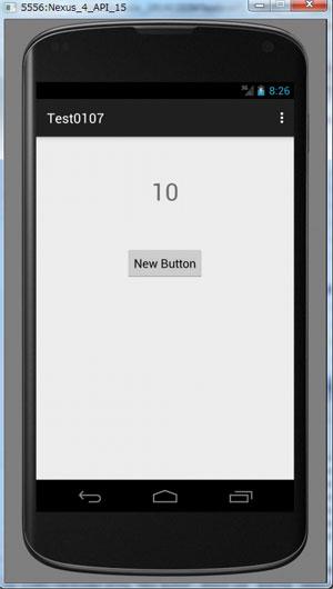 カウンターアプリ、キャプチャ画像