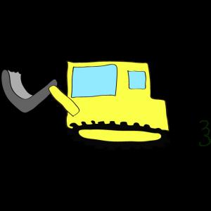 ブルドーザー2:黄色