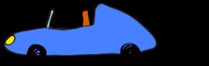 青:【素材・ 自動車】オープンカー