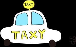 タクシー:白