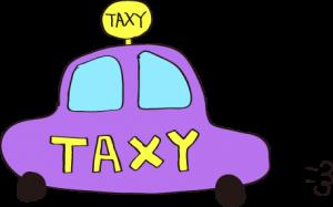 タクシー:紫