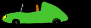 緑:【素材・ 自動車】オープンカー