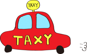 タクシー:赤