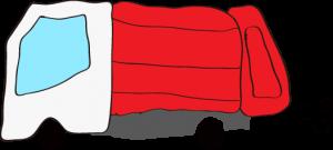 収集車 赤