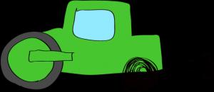 ロードローラー:緑
