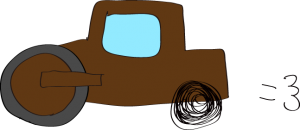 ロードローラー:茶色