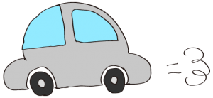 グレイ:【素材・ 自家用車】ワーゲンタイプ