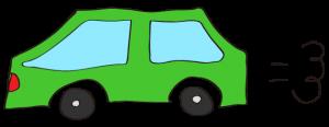 緑:【素材・ 自家用車】普通車