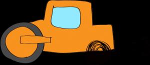 ロードローラー:オレンジ