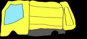 収集車 黄色