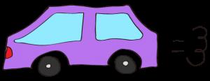紫:【素材・ 自家用車】普通車