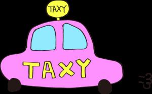 タクシー:ピンク