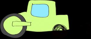 ロードローラー:黄緑