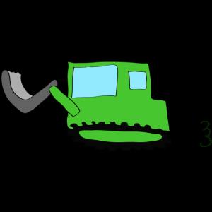 ブルドーザー2:緑
