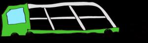 緑:【フリー素材・ 大型車】カーキャリー