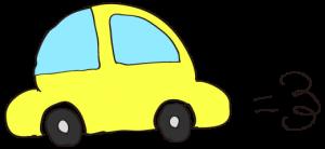 黄色:【素材・ 自家用車】ワーゲンタイプ