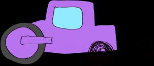 ロードローラー:紫