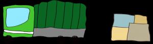 緑 【 フリー素材  】トラック Track