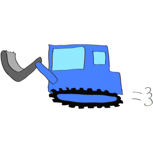 ブルドーザー2:青