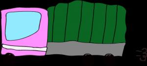 トラック:ピンク 【 フリー素材  】