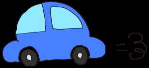 青:【素材・ 自家用車】ワーゲンタイプ