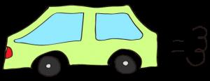 黄緑:【素材・ 自家用車】普通車