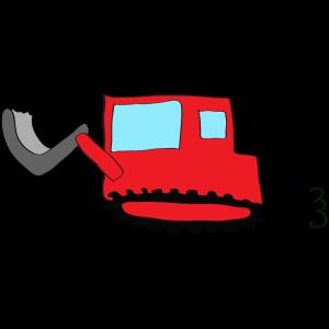ブルドーザー2:赤