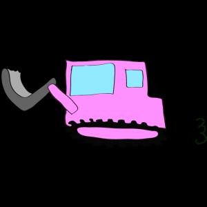 ブルドーザー2:ピンク