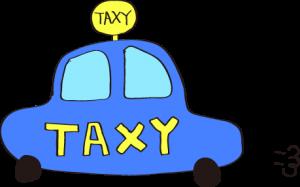 タクシー:青