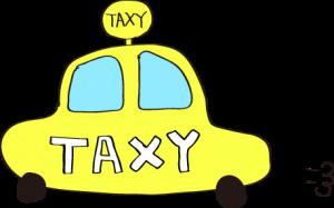 タクシー:黄色