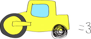 ロードローラー:黄色