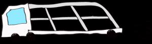 ホワイト:【フリー素材・ 大型車】カーキャリー