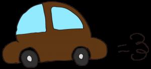 茶色:【素材・ 自家用車】ワーゲンタイプ