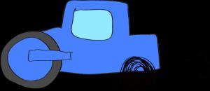 ロードローラー:青