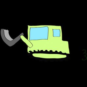 ブルドーザー2:黄緑