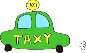 タクシー:緑