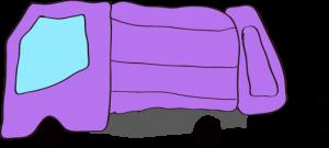 収集車 紫