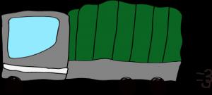 トラック:グレー 【 フリー素材 】