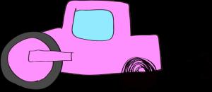 ロードローラー:ピンク