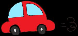 赤:【素材・ 自家用車】ワーゲンタイプ