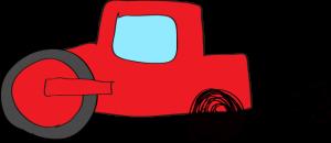 ロードローラー:赤