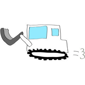 ブルドーザー2:白