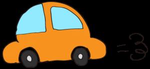 オレンジ:【素材・ 自家用車】ワーゲンタイプ