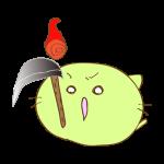 ラクガキ素材 火の玉_攻撃