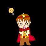 RPG素材_勇者赤_ヒラメキ_電球