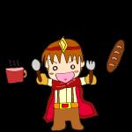 RPG素材_勇者赤_パンとスープ