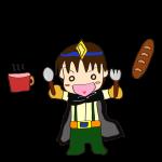 イラスト素材_勇者_パンとスープ